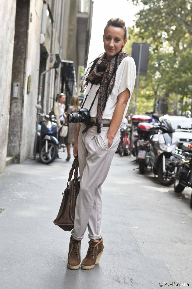 La coque, easy chic : Streetstyle
