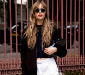 Streetstyle : Les cheveux longs wavy, so chic !