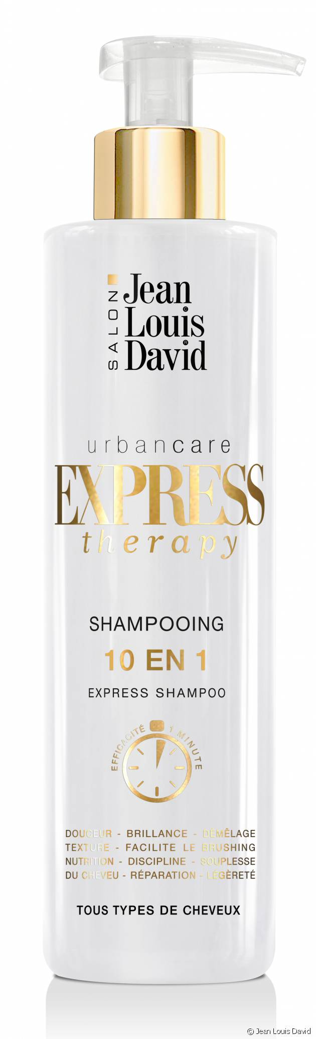 Zoom sur le shampooing Express Therapy