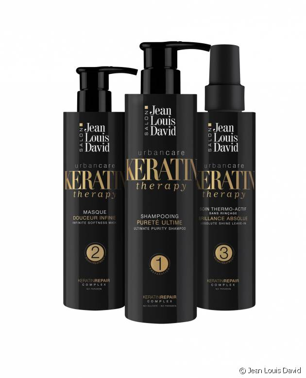 Keratin Therapy, l'innovation Jean Louis David