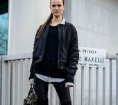 La queue-de-cheval haute chic : Streetstyle