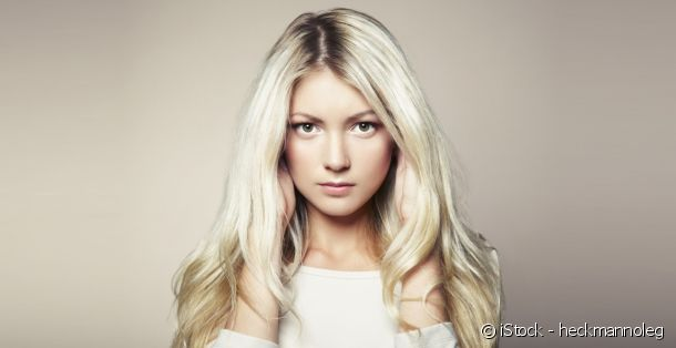 Coloration blonde : le blond platine